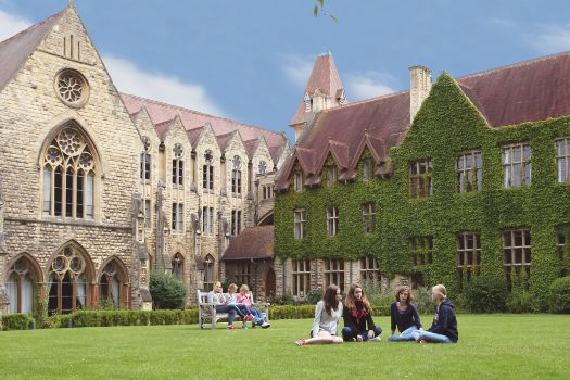 Cheltenham Ladies' College in summer