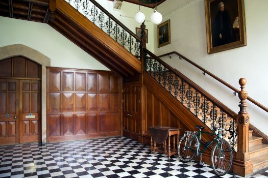 Cheltenham Ladies' College staircase